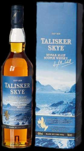 Whisky escocés Talisker Skye