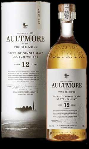 Whisky escocés Aultmore: lo mejor para el frío sin filtrar